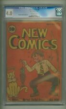 New Comics #6 (CGC 4.0) O/W pages; DC; 1936; $1,650 in guide! (c#23737)