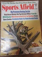 Sports afield Magazine Deer Special Bird Hunting August 1968