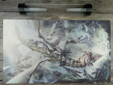 Blue-Eyes White Dragon YuGiOh TCG Playmat Game Mat Free High Quality Tube