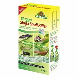 Neudorff Sluggo Slug & Snail Killer 1kg Organic & Rain Resistant