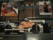 ARROWS A4 1982 FORMULA 1 PENTHOUSE  POSTER F1 A1 RICARDO PATRESE