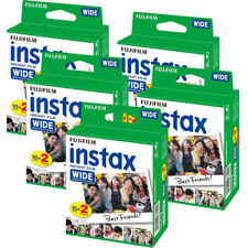 5 packs Fuji Instax Large Film pour 300 210 200 100 instantanée caméras