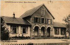 CPA  Fontaine (Territoire de Belfort) - Maison d'Ecole et Mairie  (585095)