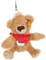 Steiff 11cm Knopf Teddy Bear Keyring  Golden Brown