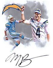 Michael Badgley Los Angeles Chargers signed autographed 8x10 football photo