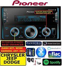 CHRYSLER-JEEP-DODGE PIONEER BLUETOOTH USB AUX CAR RADIO STEREO PKG
