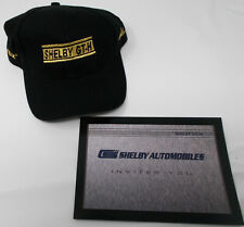 Shelby GT-H Hertz Rent A Racer Hat - ORIGINAL OEM SHELBY - RARE