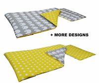 DUVET COVER+ PILLOW CASE -Baby Bedding Set Cot 120x60cm or Cot Bed 140x70 + MORE