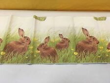 Duni Dunicel Papier Tischdecke 120 x 180 cm Ostermotiv County Rabbit