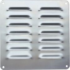 316 STAINLESS STEEL LOUVER VENT PLATE 220mm x 220mm