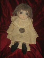 Poupée Marie d'O Pierrot  vintage signé 1978