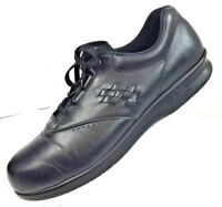 SAS Women's Free Time Black Leather Oxford Tripad Comfort Shoes Size 10 S