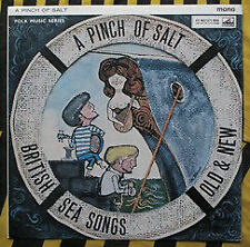 Various - 'A Pinch Of Salt' - British Sea Songs Old And New - Vinyl Rec.. - d34d