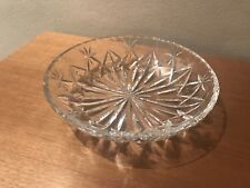 Webb & Corbett Crystal Serving or Bonbon Dish : Large 18.5cm, Pre-1960