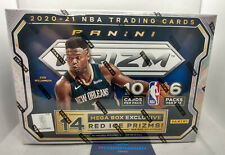 More details for 2020-21 panini prizm basketball nba cards sealed mega box 2021 in hand in uk!