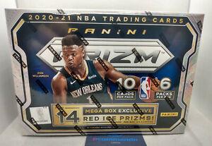 2020-21 Panini Prizm Basketball NBA Cards Sealed Mega Box 2021 IN HAND IN UK!