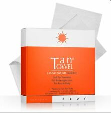 Tan Towel Tantowel Self Tanning Plus Towelettes Medium to Dark 5 count