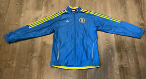Adidas 2009 Official Men's Boston Marathon Jacket Size Medium