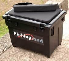 FISHINGMAD SEAT BOX + STRAP + CUSHION CHOICE OF 4 DESIGNS OF SEATBOX STICKERS