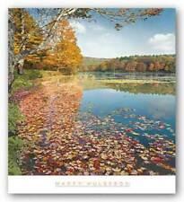 Bass Lake In Autumn II Marty Hulsebos Art Print 27x27