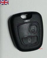 NEW Citroen Xsara Picasso Saxo 2 Button Remote Key Fob Case Shell for Repair