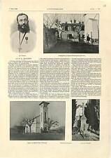 Eglise Sainte-Anne d'Evenos Père Alexandre Dorgère / Famine India PRINT 1900