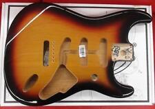 Fender MIM 3-Color Sunburst Alder Strat Body~For 2 7/32nd`s Bridge~Brand New