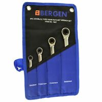 Torx / E Ratchet Spanner Wrench Set Double Ended E6 - E24 4pc Set BERGEN AT482