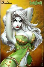 LADY DEATH ECHOES #1 NAUGHTY LINGERIE VARIANT  MIKE DEBALFO ART & SIGNED PULIDO