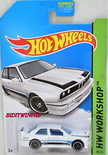 HOT WHEELS 2014 ALL STARS '92 BMW M3 WHITE BAD CARD K-MART EXCLUSIVE