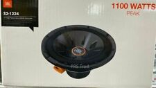"""Brand NEW JBL S2-1224 Series II 1100 Watts 12"""" switchable 2 or 4 Ohm Subwoofer"""