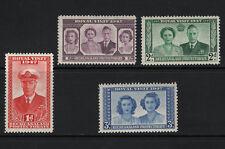 OPC 1947 Bechuanaland Royal Visit Sc#143-146 MNH OG 33133