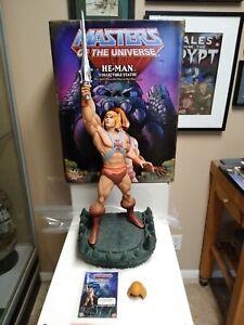 Pop Culture Shock He-Man & The Masters Of The Universe MOTU 1/4 Scale Statue PCS