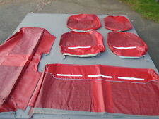 1964 Ford N.O.S. Red Country Sedan 9 Passenger Wagon Seat Covers #2