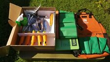 Ukoke Garden Hand Tool Set, 11 Pieces Garden Canvas Apron-No Gloves