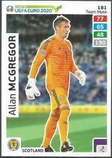 PANINI UEFA EURO 2020 ADRENALYN XL- #181-SCOTLAND & RANGERS-ALLAN McGREGOR