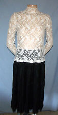 Derek Heart Cruise Worthy 4-Tiered Skirt Size Small (6/8 Estimate) Career or Cas
