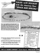 Gilbert American Flyer Train Space Age Sheet D2177
