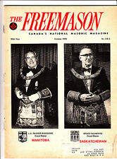 The Freemason Canada National Masonic Magazine October 1979 Saskatchewan