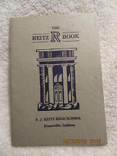 1936 F.J. Reitz High School Student Handbook Evansville IN 52 Pages With History