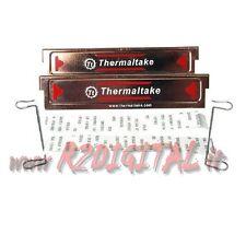 DISSIPATORE PASSIVO per MEMORIE RAM THERMALTAKE RAME DDR SDRAM UNIVERSALE