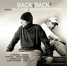 CD Back 2 Back Volume 2 mixed by Holgi Star & Pie 2CDs