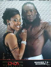 BOOKER T SHARMELL signed autographed TNA 8x10 photo COA