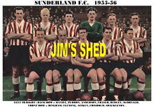 SUNDERLAND F.C.TEAM PRINTS X 25 (1895-1973)