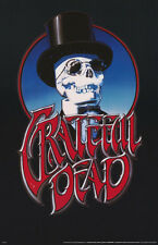 LOT OF 2 POSTERS:MUSIC: GRATEFUL DEAD - SKULL TOPHAT - FREE SHIP #P7117   LP33 N