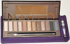 Urban Decay Naked Eyeshadow Palette NEW! Eye Kit Set Brush Mirror Primer