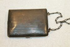 """FRANCIS REED BARTON STERLING SILVER """"MJR"""" 100 YEARS OLD 1915 WALLET CASE PURSE"""