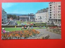 POSTCARD SUSSEX EASTBOURNE WILMINGTON SQUARE & THEATRE
