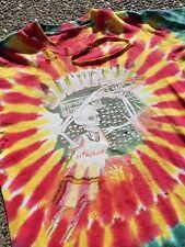 Vintage 1992 Lithuania Basketball Shirt Men Size L XL fit Grateful Dead USA vtg