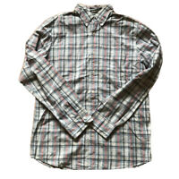 RALPH LAUREN JEANS COMPANY Check Washed Shirt Size M Button Down Long Sleeve